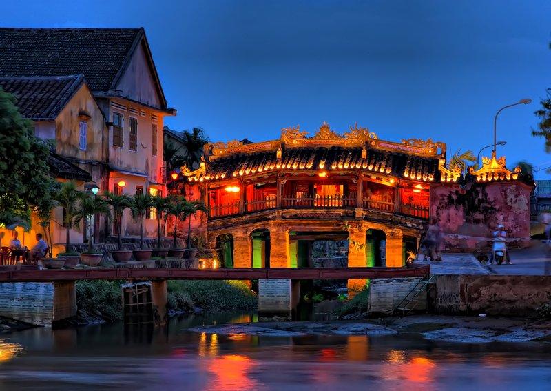 Puente Japones en Hoi An (Vietnam)
