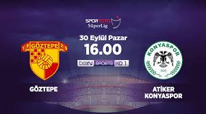 Göztepe - KonyasporCanli Maç İzle 30 Eylül 2018