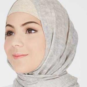 Kerudung Hijab Pashmina Grey Ghazwani Lace