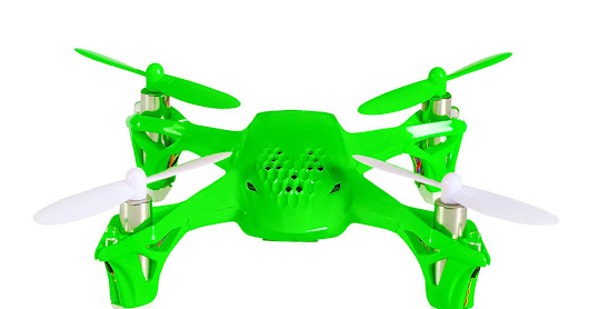 2017 Christmas Gift Idea - Under $40 w/Free Shipping - SEE THE REVIEWS - Tekstra Brands Tekstra Hubsan Spyder Micro Drone RC Quadcopter, Beginner Drone with Remote Controller, Electric Green, Orange, Yellow