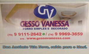 Gesso Vanessa UAUA BAHIA