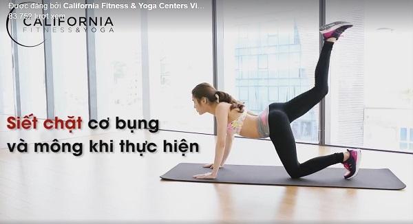 bài tập thể dục giúp mông thon gọn