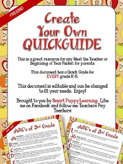 https://www.teacherspayteachers.com/Product/FREEBIE-Quick-Guide-for-Parents-Editable-1308174