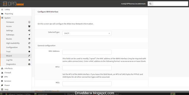 DriveMeca instalando y configurando OPNsense paso a paso