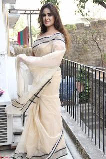 Sony Charishta in Brown saree Cute Beauty   IMG 3596 1600x1067.JPG