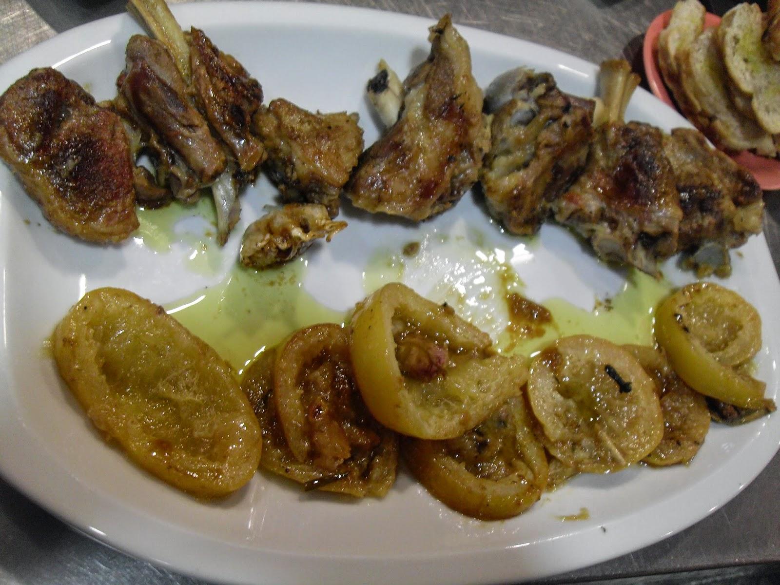 Tajine de cordero con limones confitados  de Montse Estruch.