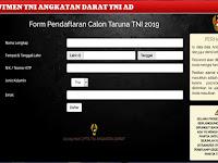Penerimaan Calon Taruna Akmil TNI AD Tahun 2019 Resmi Dibuka, ini Syaratnya