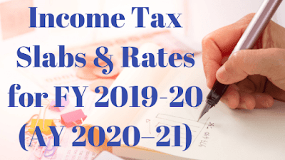 Image result for income tax slab for fy 2019-20
