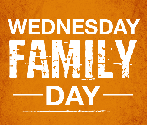 Wednesday Family Day