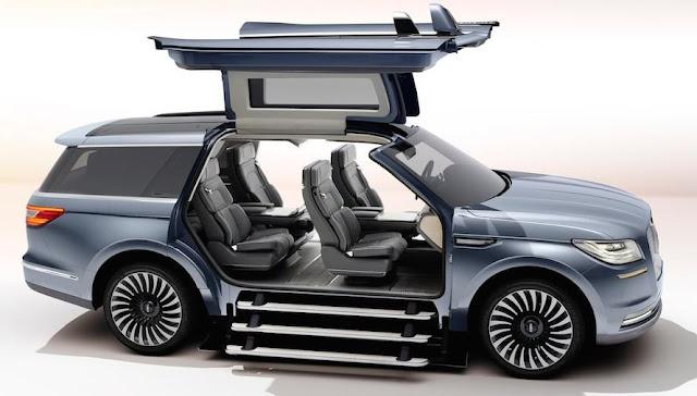 SUVに巨大なガルウィング!?リンカーン「ナビゲーター」のコンセプトカーがスゴい!
