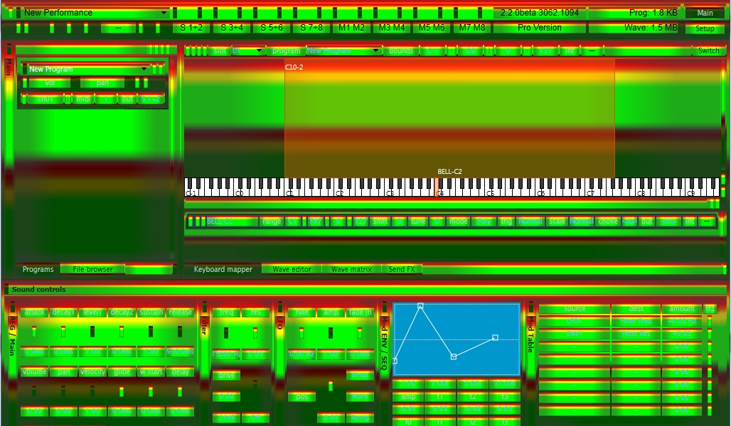 TX16Wx Software Sampler: How is this for a new look?