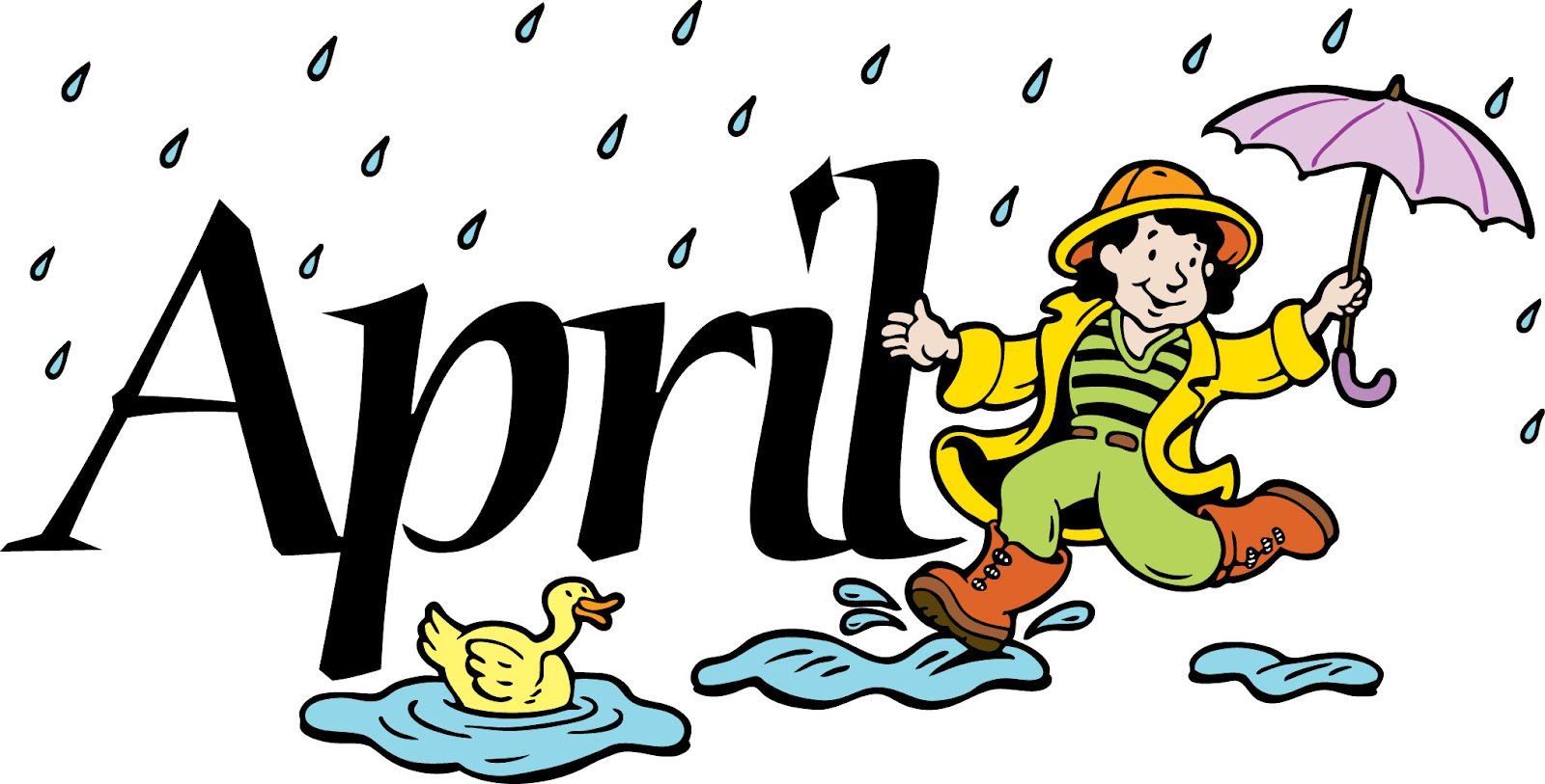 April Showers Book For Kids