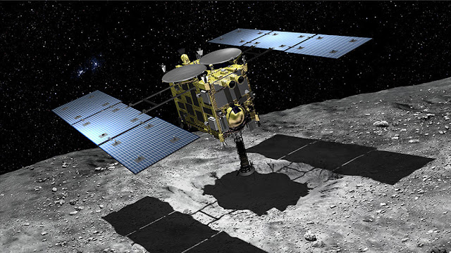 Japan's Hayabusa 2 Mission Successfully Lands On The Surface Of Asteroid