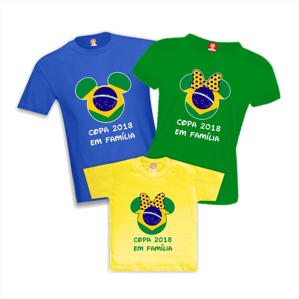 Imaginário Roupas Personalizadas  Camiseta Personalizada Copa do Mundo f6449eaca17a4