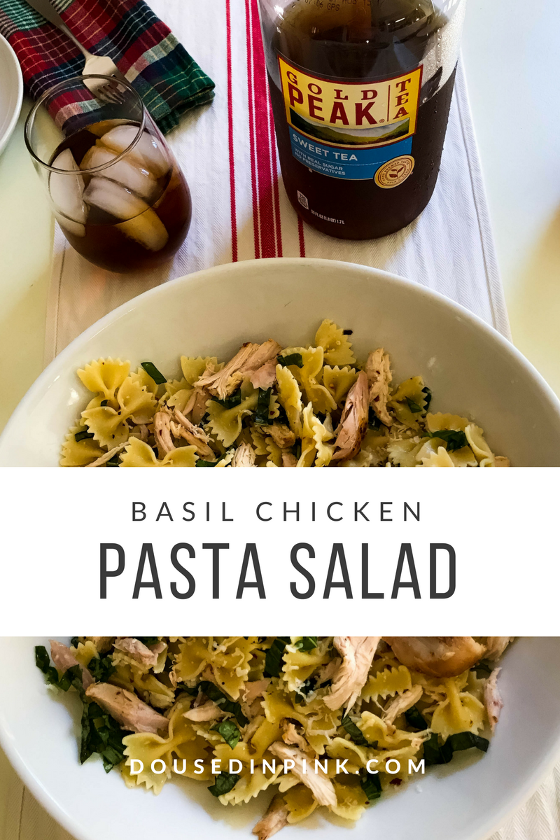Basil Chicken Pasta Salad