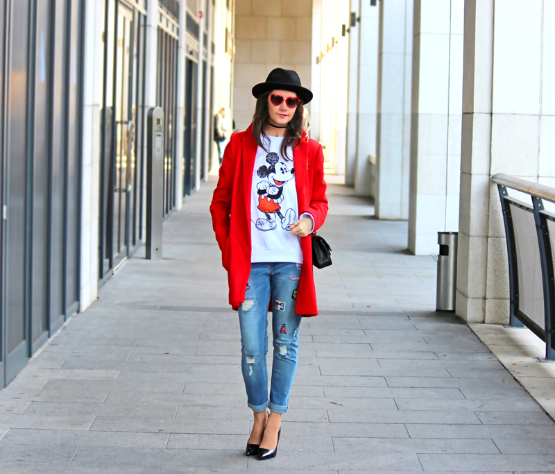 MICKEY  //  Patched Jeans