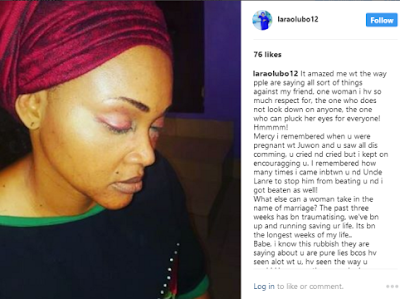 'Lanre Gentry Also Beat Me Up While I Was Trying To Settle A Fight Between Them – Mercy Aigbe's Friend Speaks