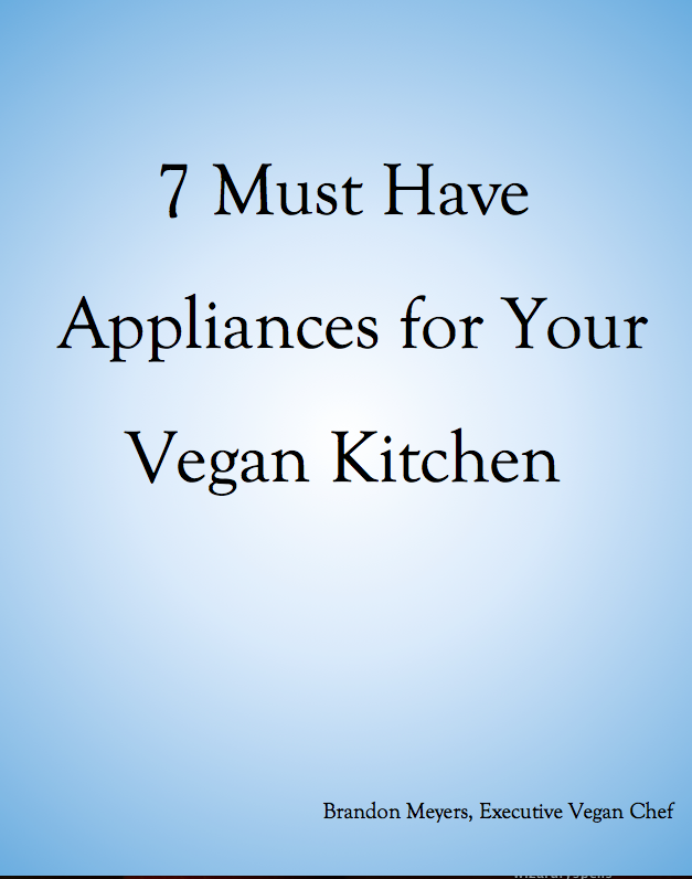 Free and amazing 7 must have appliances for your vegan kitchen for Must have appliances