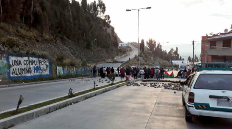 Desde julio La Paz soporta consecutivos paros y bloqueo de gremios y sindicatos