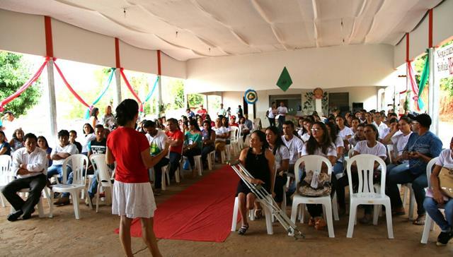 Sim, Eu Posso em São João do Caru. Foto: Lauro Vasconcelos