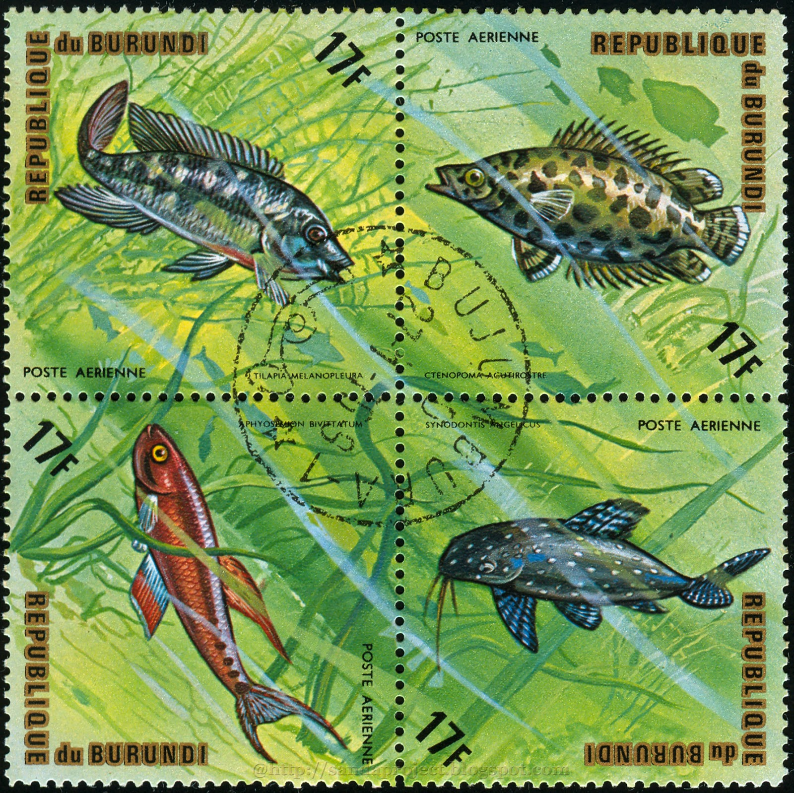 Sanda Project Stamps Collection: Set Of Postage Stamps