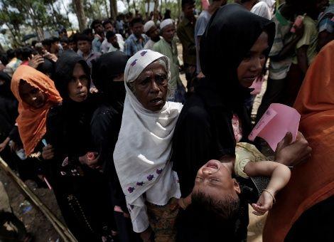 Unos 470 mil rohingyas necesitan ayuda para refugios, dice ONU
