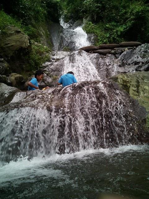 Air Terjun Rahtawu di Kudus