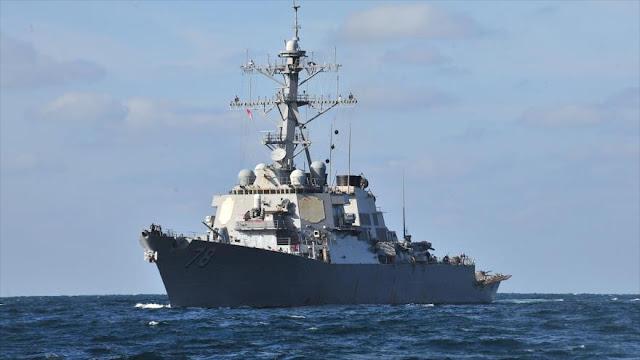Pentágono informa de 'incidentes' entre USS Porter y cazas rusos