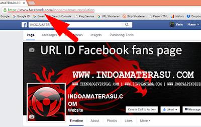 Cara Mengetahui URL ID Facebook fans page