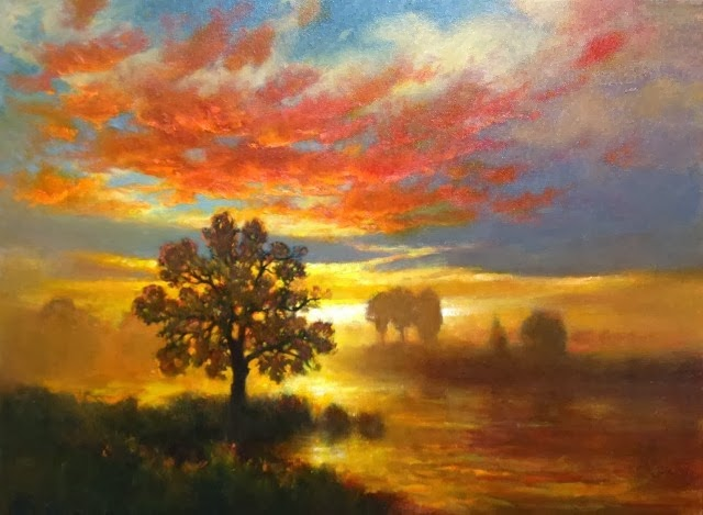 Романтические пейзажи. Gerard Erley