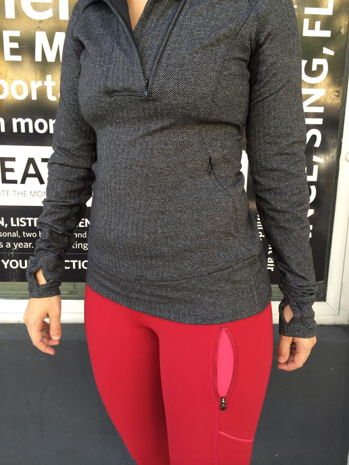 lululemon think fast pullover crop