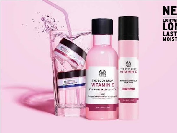 Body Shop Vitamin E Range