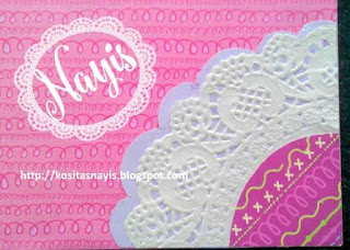 libreta decorada con scrapbooking