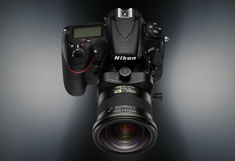 Nikon PC Nikkor 19mm f/4E ED на камере Nikon D810