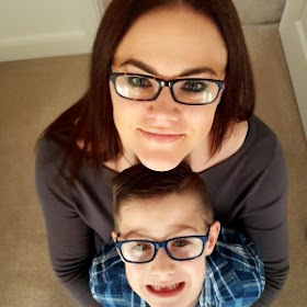Blogger Clare from Freddies Mummy UK and her son