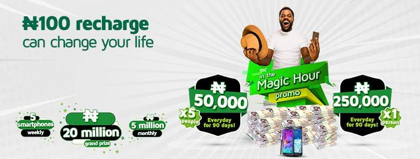 9mobile 2019 Magic Hour Promos, WIN N20 million [updated