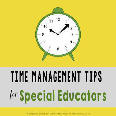 Time Management for the Special Educator