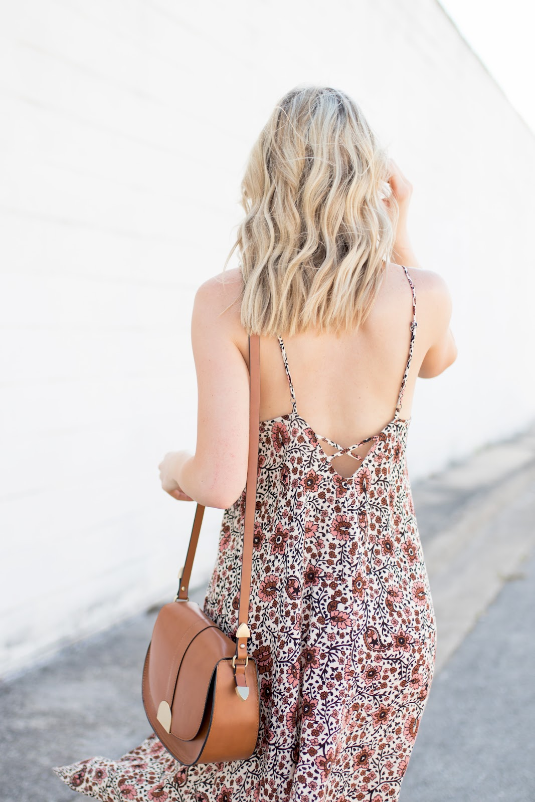 Low-back dress