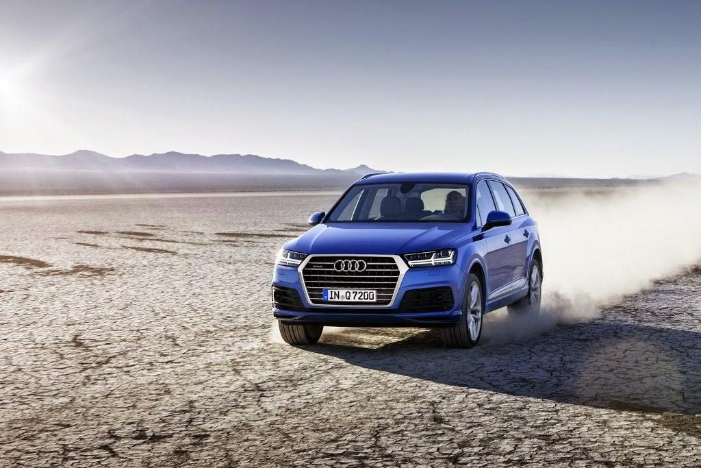 2016 Audi Q7 Revealed