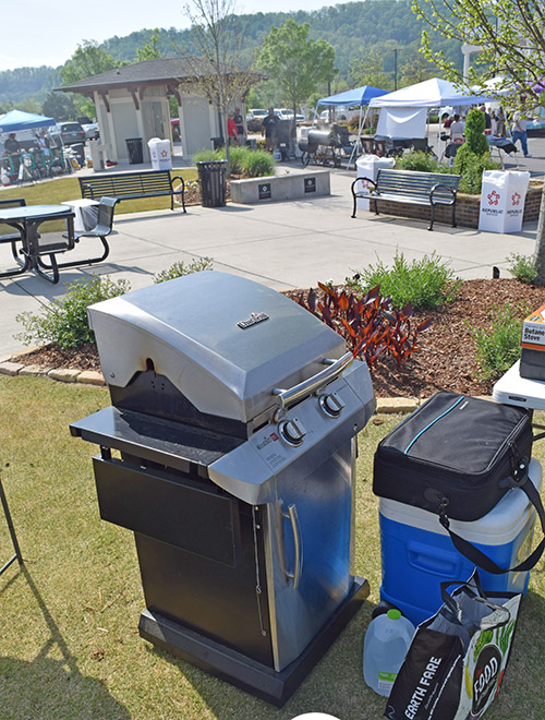 Char-Broil Performer used at a World Food Championship qualifying event.