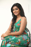 Actress Eesha Latest Pos in Green Floral Jumpsuit at Darshakudu Movie Teaser Launch .COM 0153.JPG