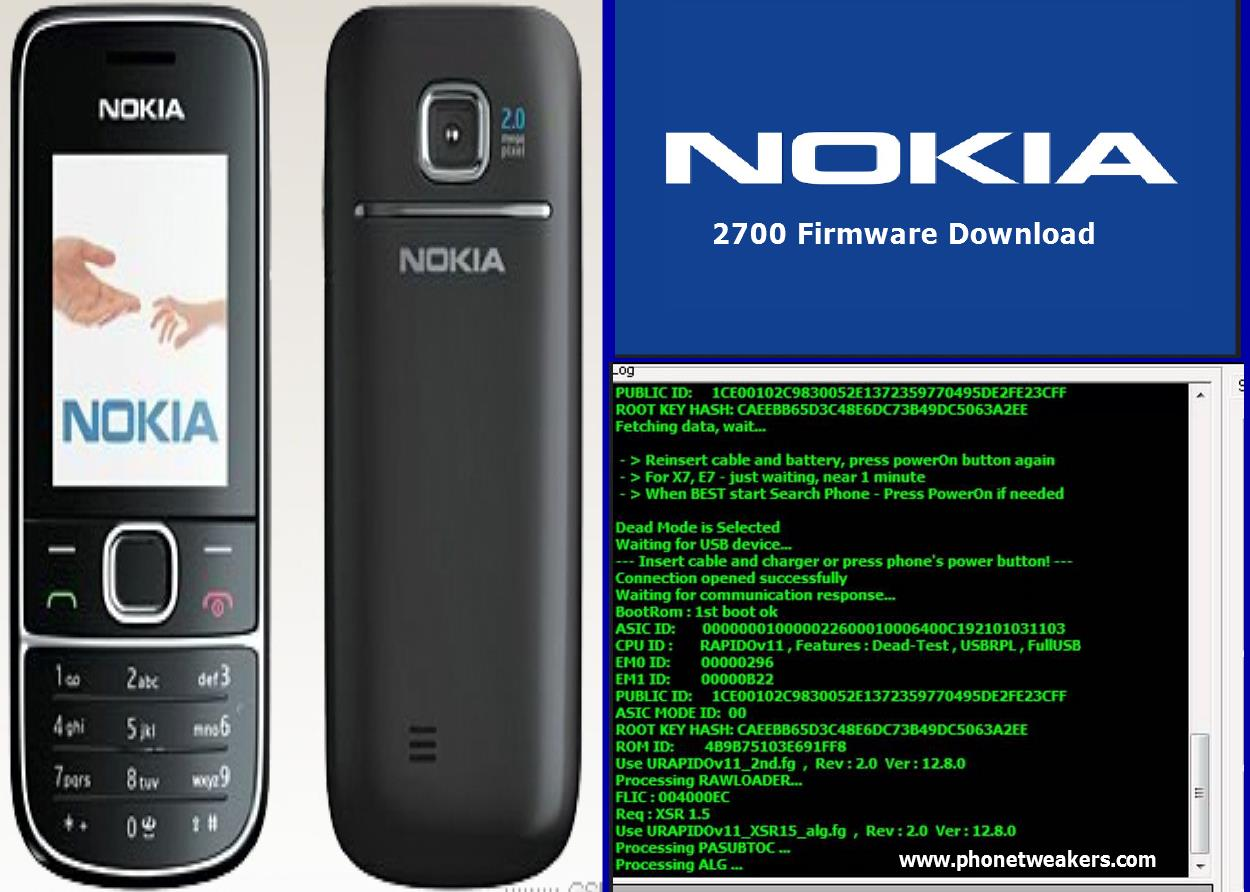 Nokia 2700 Latest Firmware Download | Phonetweakers