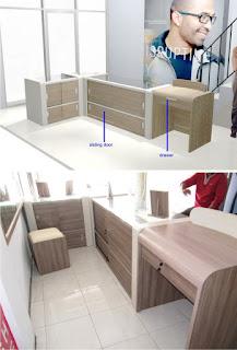Furniture Etalase Toko