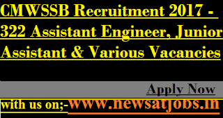 CMWSSB-jobs-322-Assistant-Engineer-&-Various-Vacancies