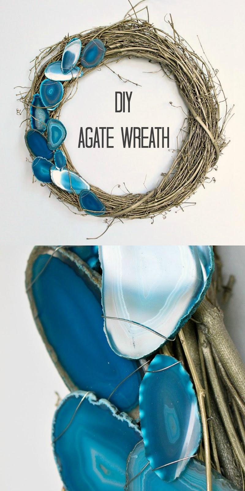 Agate Slice DIY