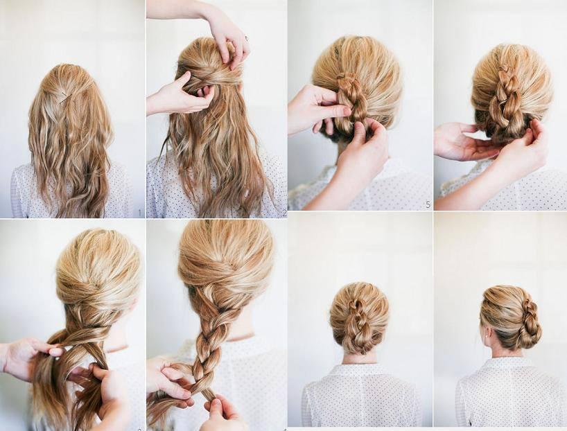 Cute & Easy Bun Hairstyles for Long Hair and Medium Hair ...