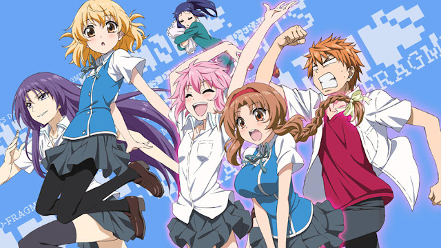 Download OST Opening Ending Anime D-Frag! Full Version