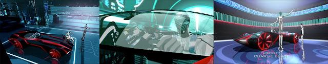 V Ling: Tron Uprising Roadster