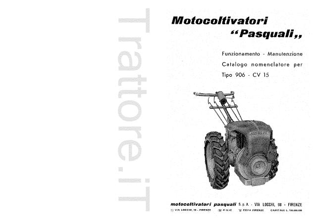 InfoTrattore.it: Motocoltivatore Pasquali 906 CV 15