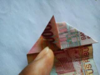 Gambar origami-uang01
